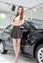 气质美女车