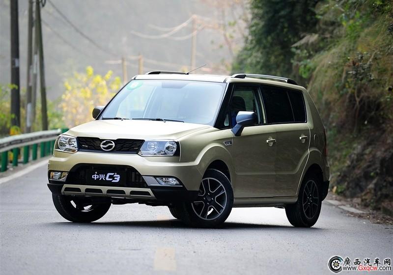 广汽中兴C3车型 外观图