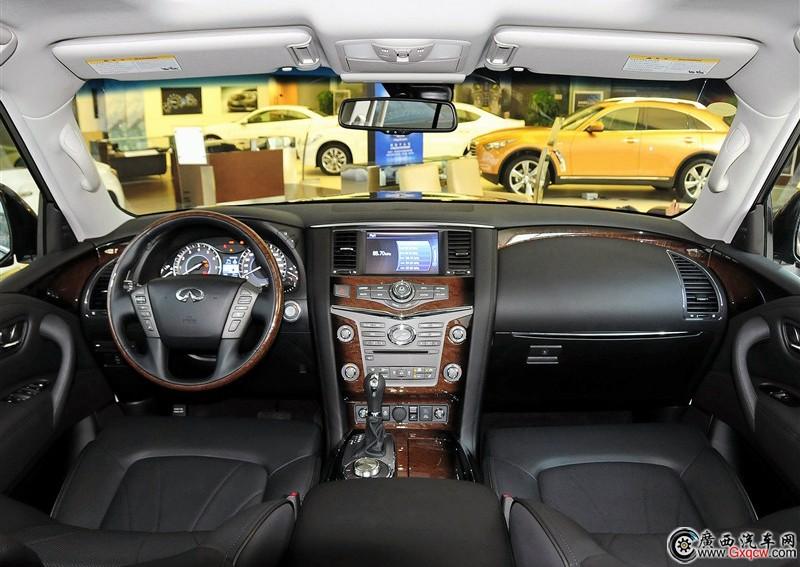 英菲尼迪QX80车型 外观图