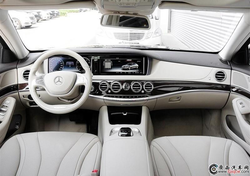 奔驰S级车型 外观图