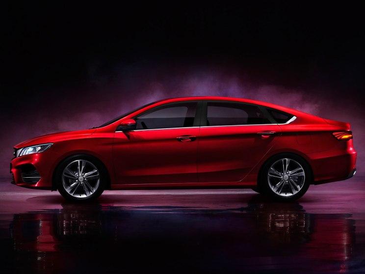 吉利全新紧凑型车缤瑞将于6月25日正式亮相