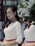 2015亚博体育买球APP国际汽车文化节之女神前台