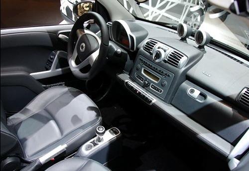 奔驰smart电动版 明年将使用锂离子电池高清图片