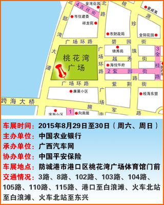2015广西汽车网防城港千人团购车展