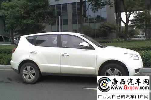 吉利首款SUV全球鹰GX7无伪照 11月将上市高清图片