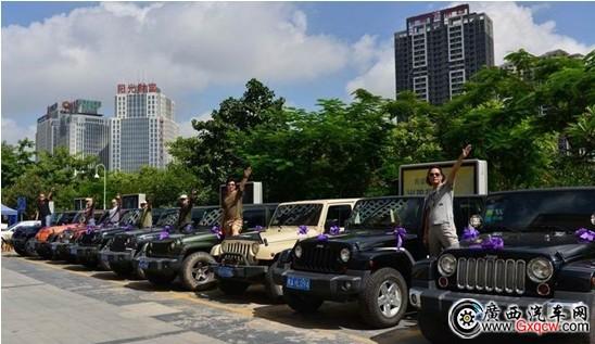 南宁史上最牛的婚车迎亲队,惊艳邕城高清图片