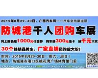 2015广西汽车网(防城港)千人团购车展