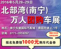 2016北部湾(南宁)万人团购车展
