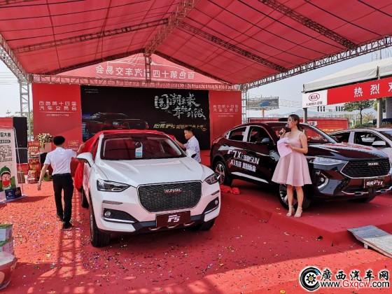 哈弗F5国潮版百色江淮iev7l-车展上city,售价10万起